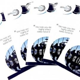 brochure แผ่นพับ amplio