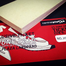 TICKET PRE SALE COUPON CENTRAL PLAZA