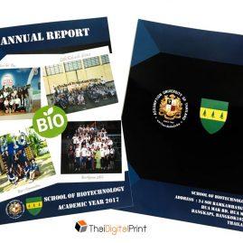 หนังสือ Annual Report